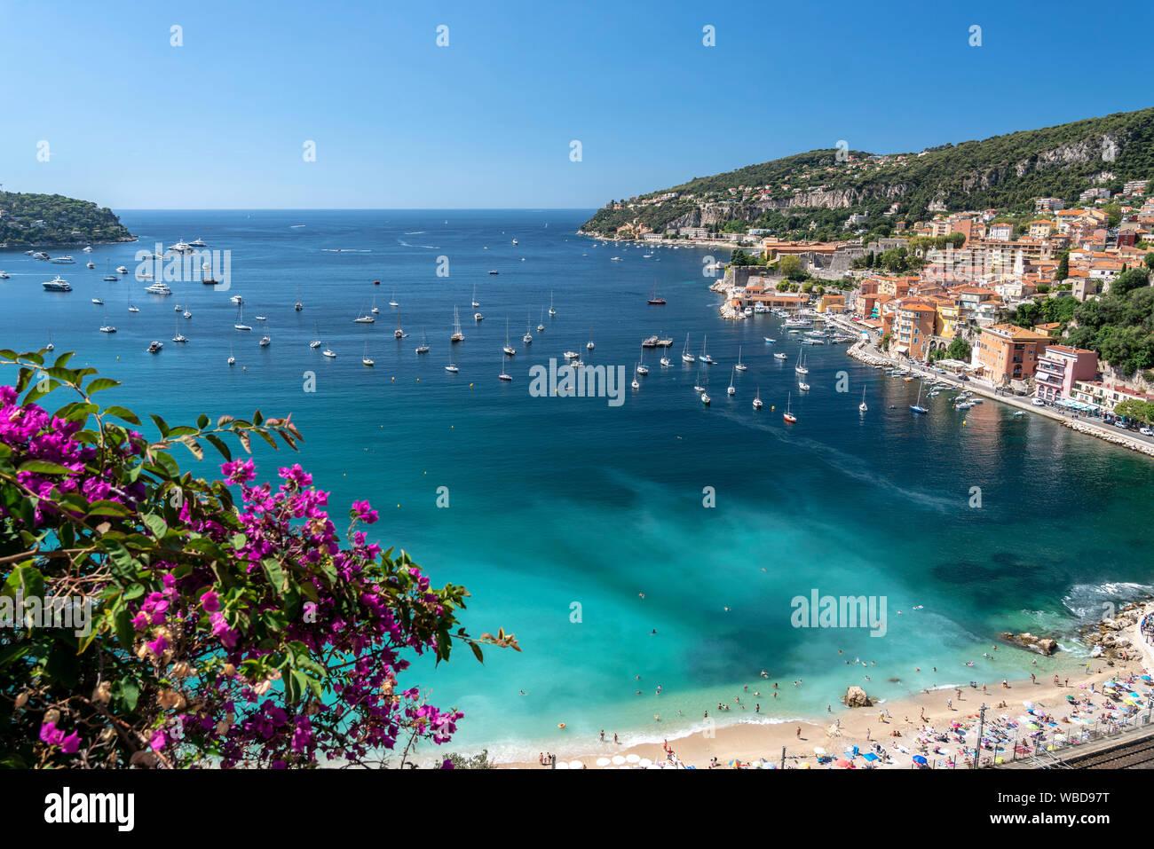 Villefranche sur Mer, Cote d Azur, france Stock Photo