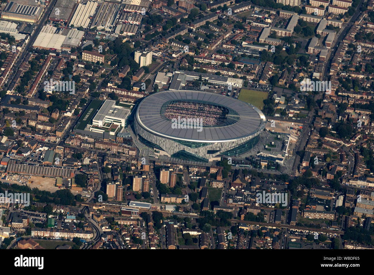 Tottenham Hotspur Stadium Aerial High Resolution Stock Photography And Images Alamy