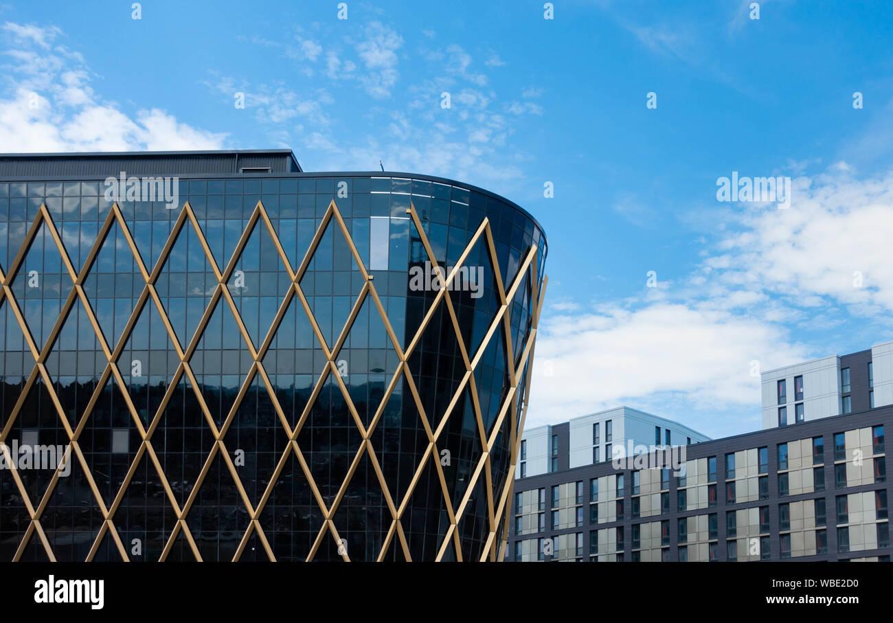 UK National Innovation Centre for ageing/Data.Newcastle Helix, Newcastle upon Tyne, England. UK Stock Photo