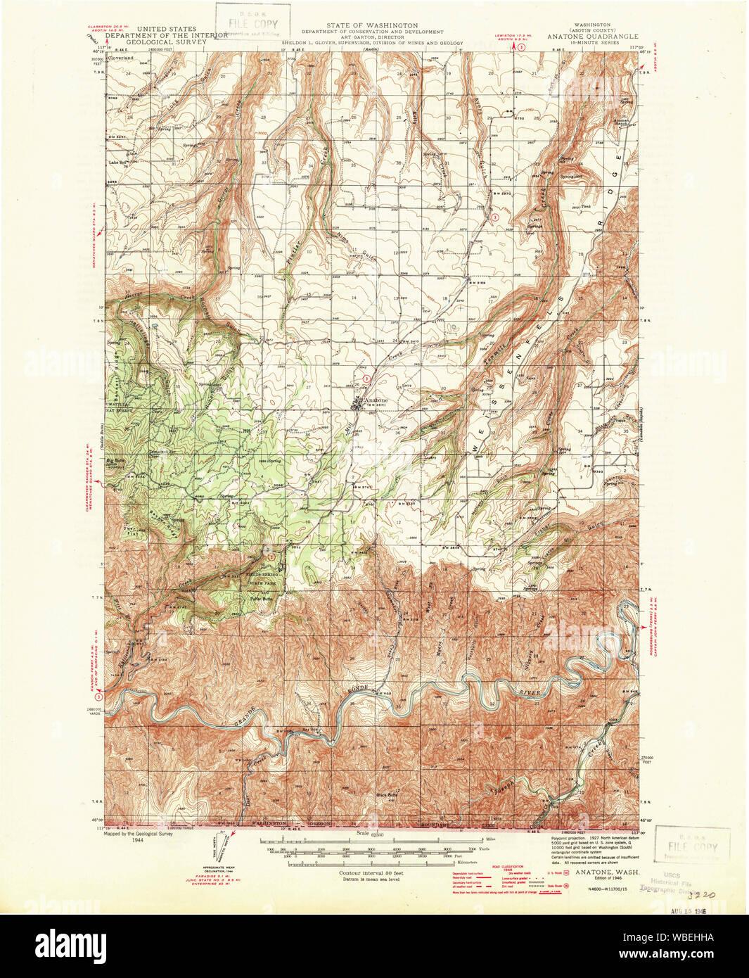 USGS Topo Map Washington State WA Anatone 239820 1946 62500 ... Geological Map Of Washington State on ancient map of washington state, detailed map of washington state, map of volcanoes in washington state, soil map of washington state, topological map of washington state, geological features in washington, northwest coast of washington state, geographic center of washington state, geographical map of washington state, rock map of washington state, precipitation in washington state, recreational map of washington state, historical landslides in washington state, geological maps of nebraska with legend, agenda 21 map washington state, mineral map of washington state, forest map of washington state, geologic features of washington state, gold creeks of washington state, thematic map of washington state,