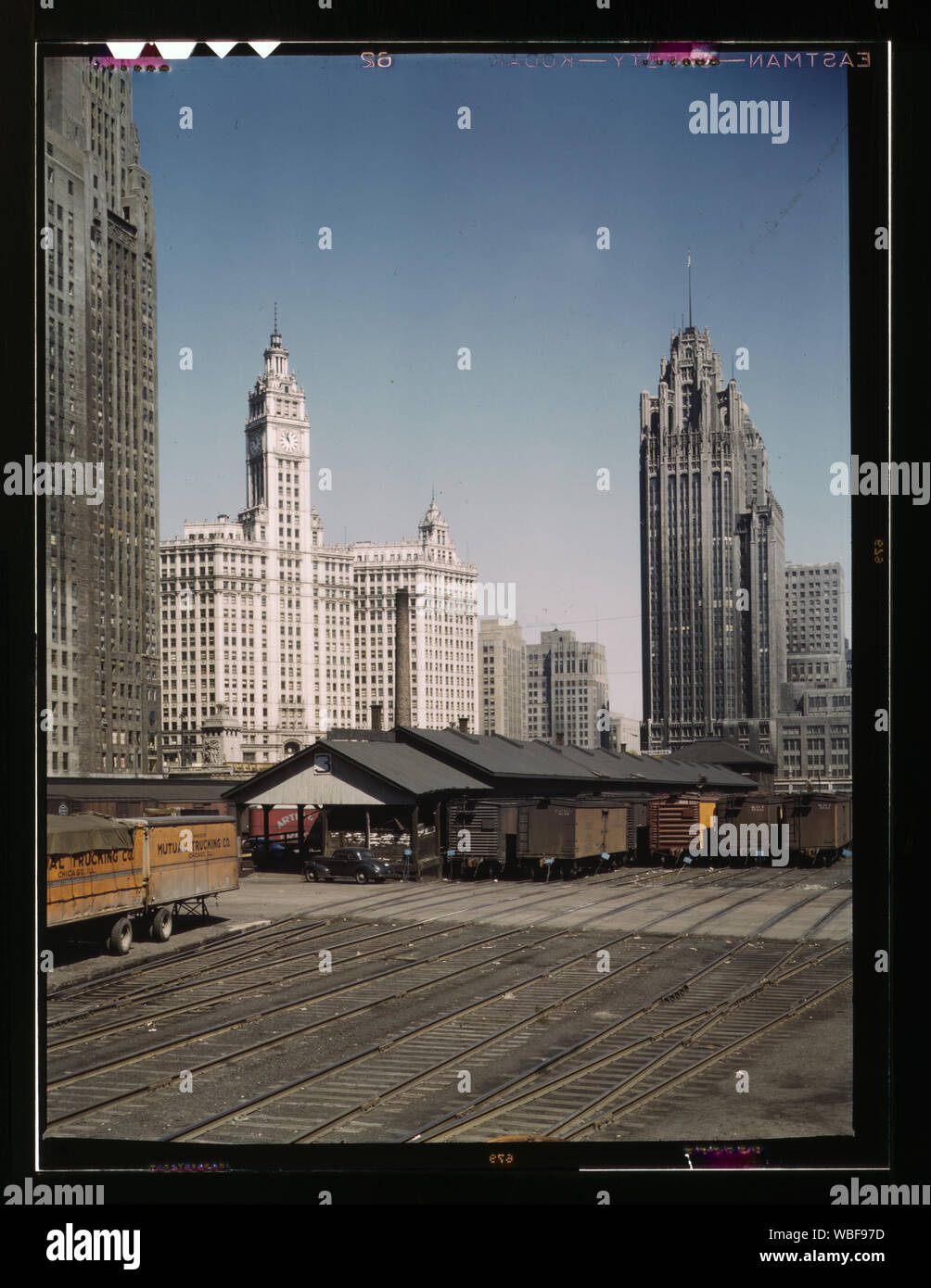 South Water Street Illinois Central Railroad Freight