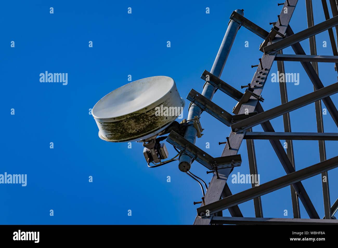 Telephone Wires Overhead Stock Photos & Telephone Wires