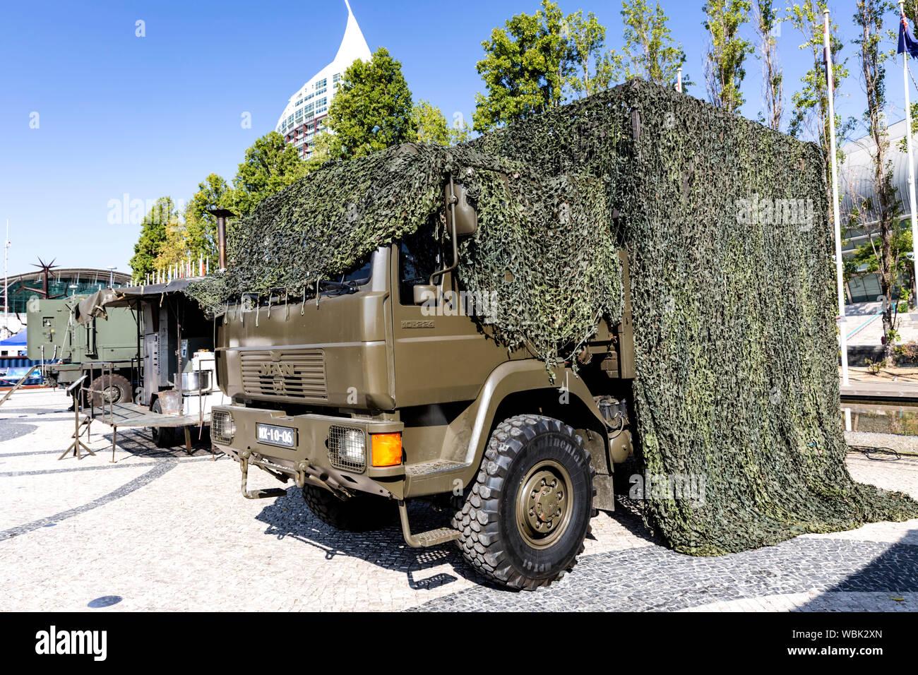 Army Camo Netting Stock Photos & Army Camo Netting Stock