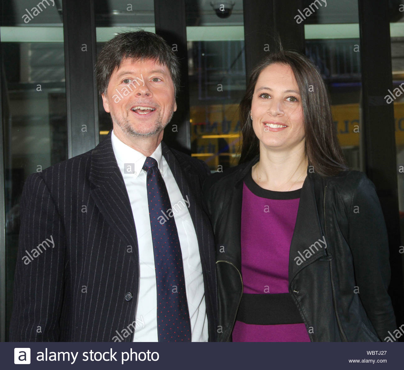 New York Ny Ken Burns And Sarah Burns Are All Smiles At Good Day Ny In New York Akm Gsi April 16 2013 Stock Photo Alamy