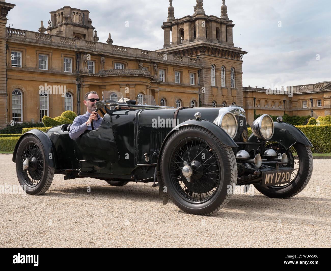 Vintage Aston Martin Sports Car Stock Photo Alamy