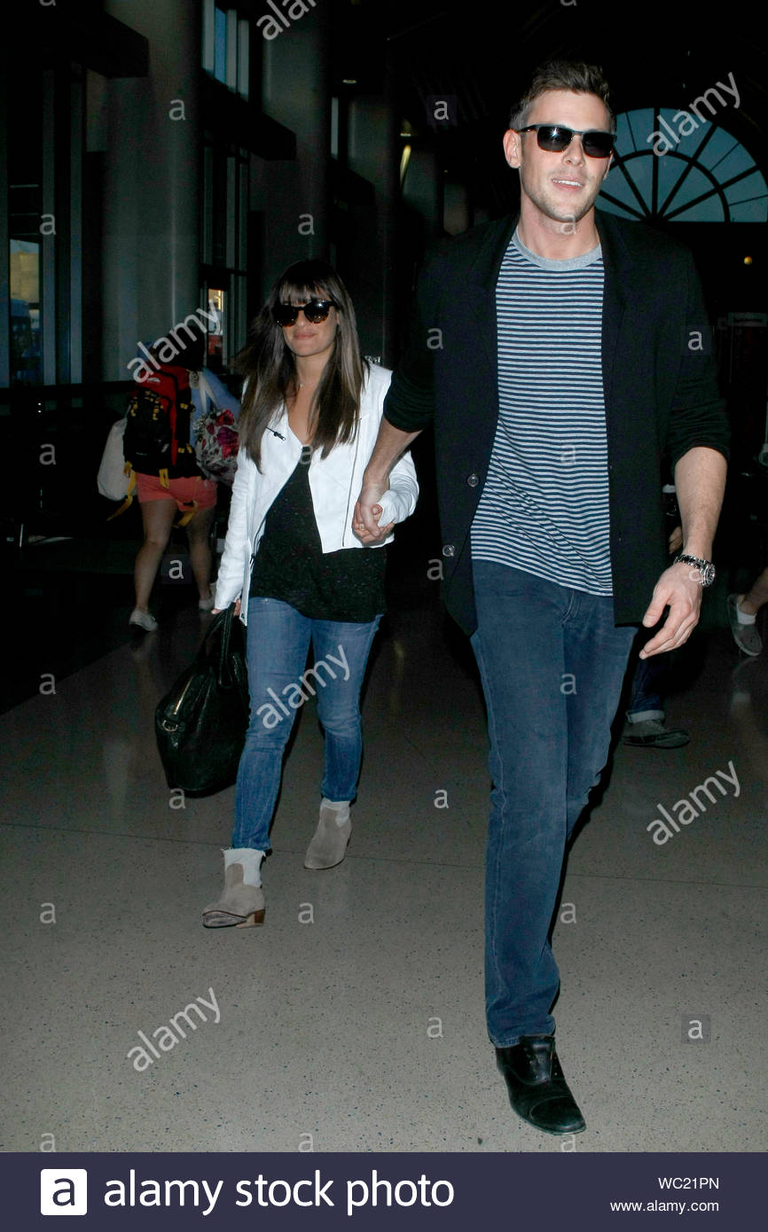 Cory Monteith dating Lea Michele 2013