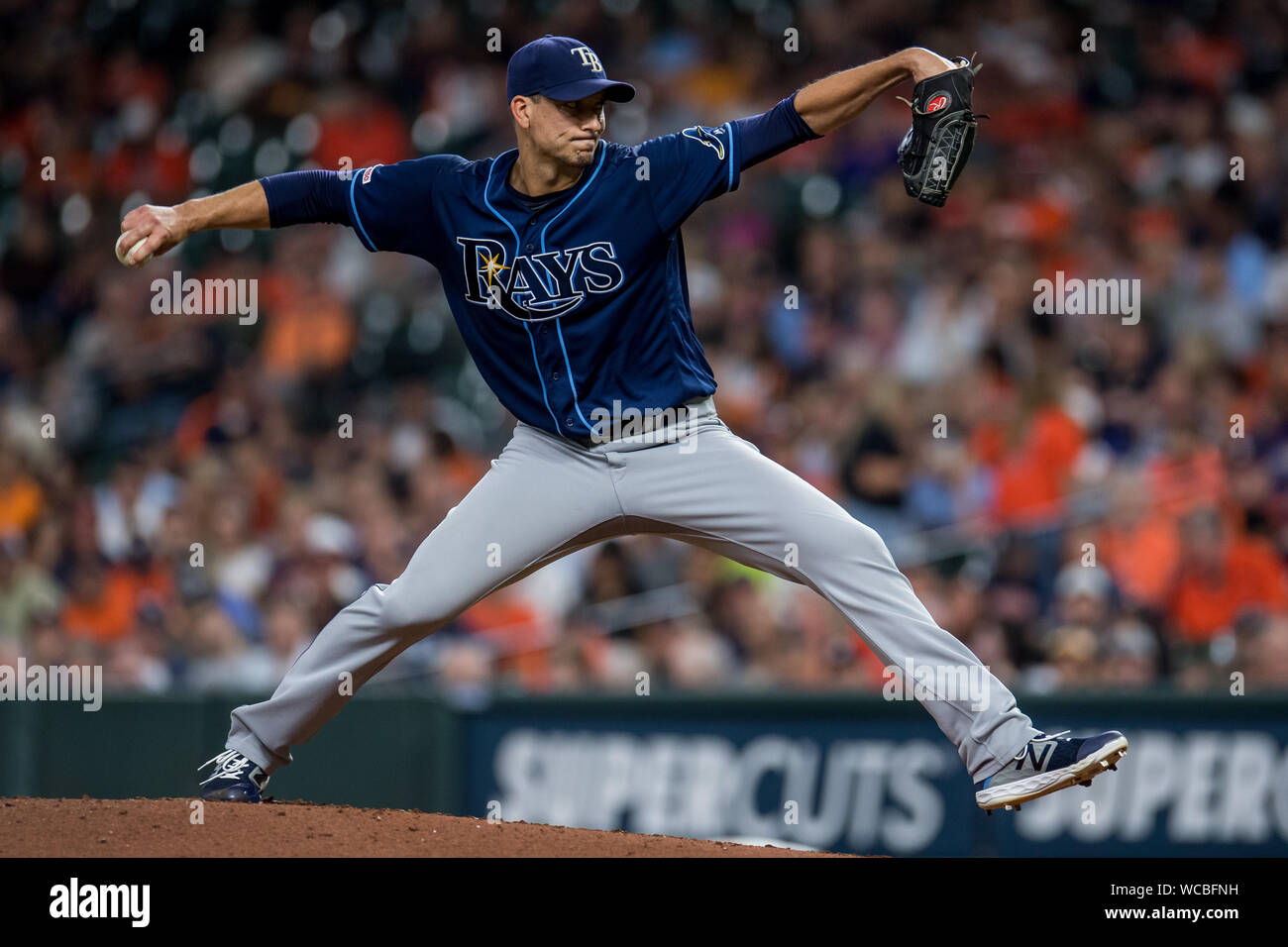 morton smith high resolution stock photography and images alamy https www alamy com houston texas usa 27th aug 2019 tampa bay rays starting pitcher charlie morton pitches against the houston astros in the 3rd inning at minute maid park in houston on tuesday august 27 2019 photo by trask smithupi credit upialamy live news image265785229 html