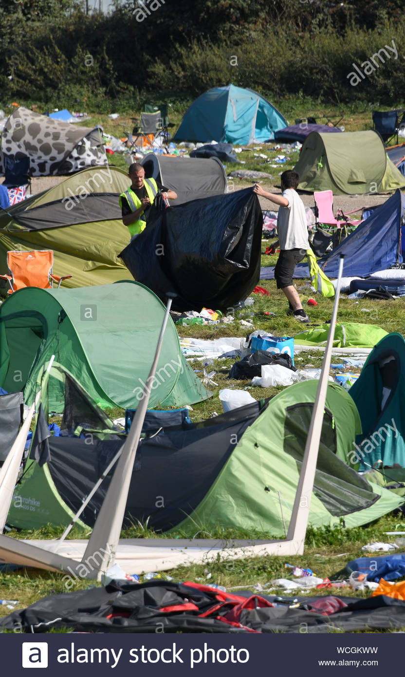 Camping Beds For Tents >> Pictured 26 8 19 Are Thousands Of Tents Which Have Been Left