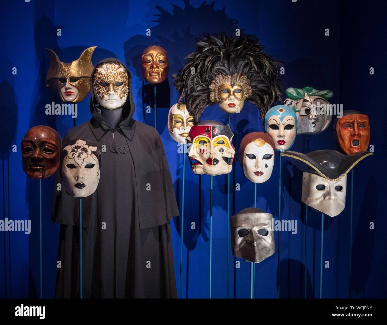 Eyes Wide Shut Masks Stanley Kubrick The Exhibition Design Museum London Uk Stock Photo Alamy