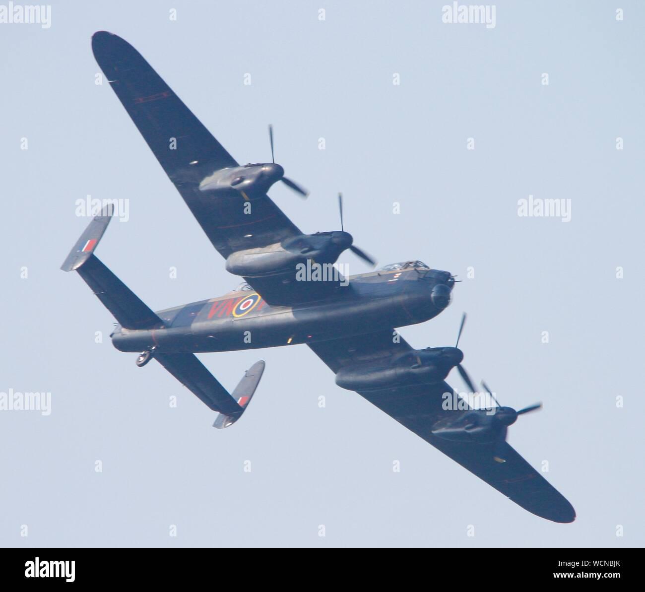 Rhyl,Uk Rhyl Airshow 2019 featuring Typhoon credit Ian Fairbrother/Alamy Stock Photos Stock Photo