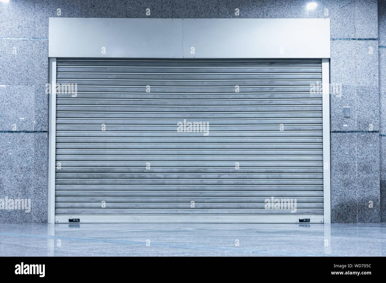 Automatic Factory Shutter Roller Door Indoor Steel Rolling