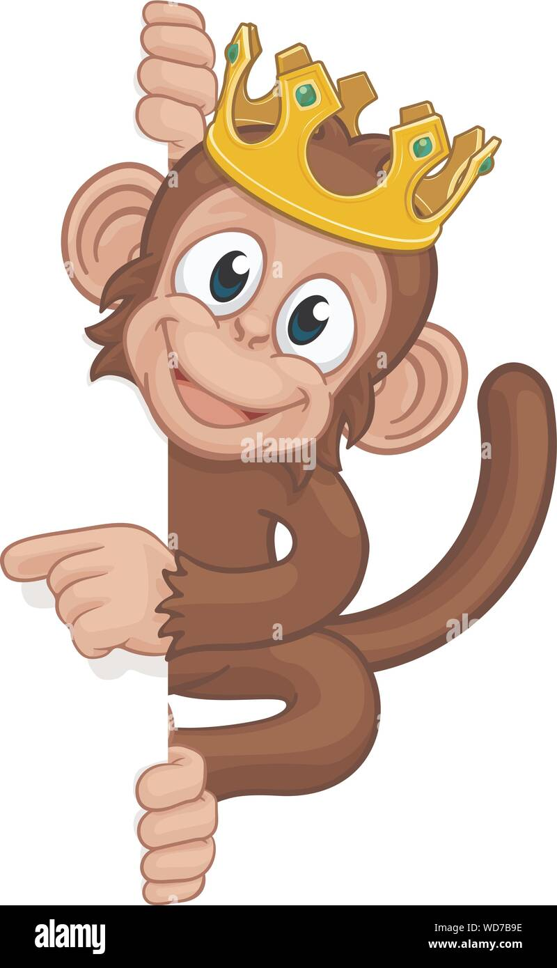 Monkey King Crown Cartoon Animal Pointing At Sign Stock Vector Image Art Alamy 940 x 940 jpeg 121 кб. https www alamy com monkey king crown cartoon animal pointing at sign image266308602 html