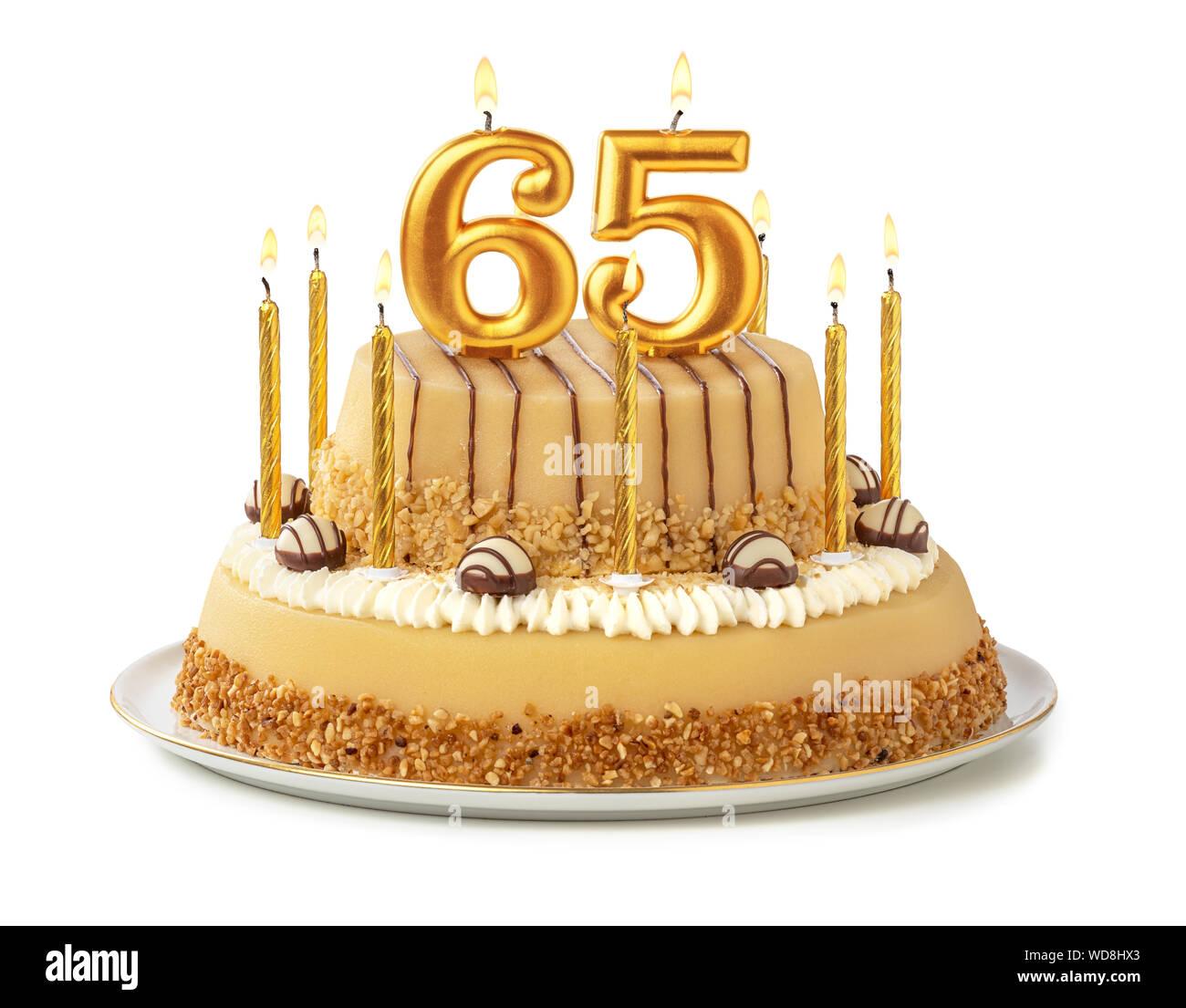 Sensational 65Th Birthday Cake Stock Photos 65Th Birthday Cake Stock Images Funny Birthday Cards Online Drosicarndamsfinfo