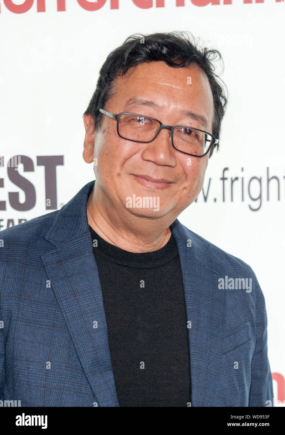 Michael Goi attends Mary at Frightfest 2019 on Saturday 24 August ...