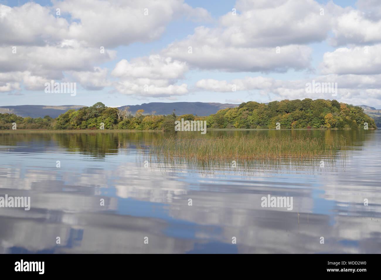 Lough Gill in County Sligo, Ireland. Stock Photo