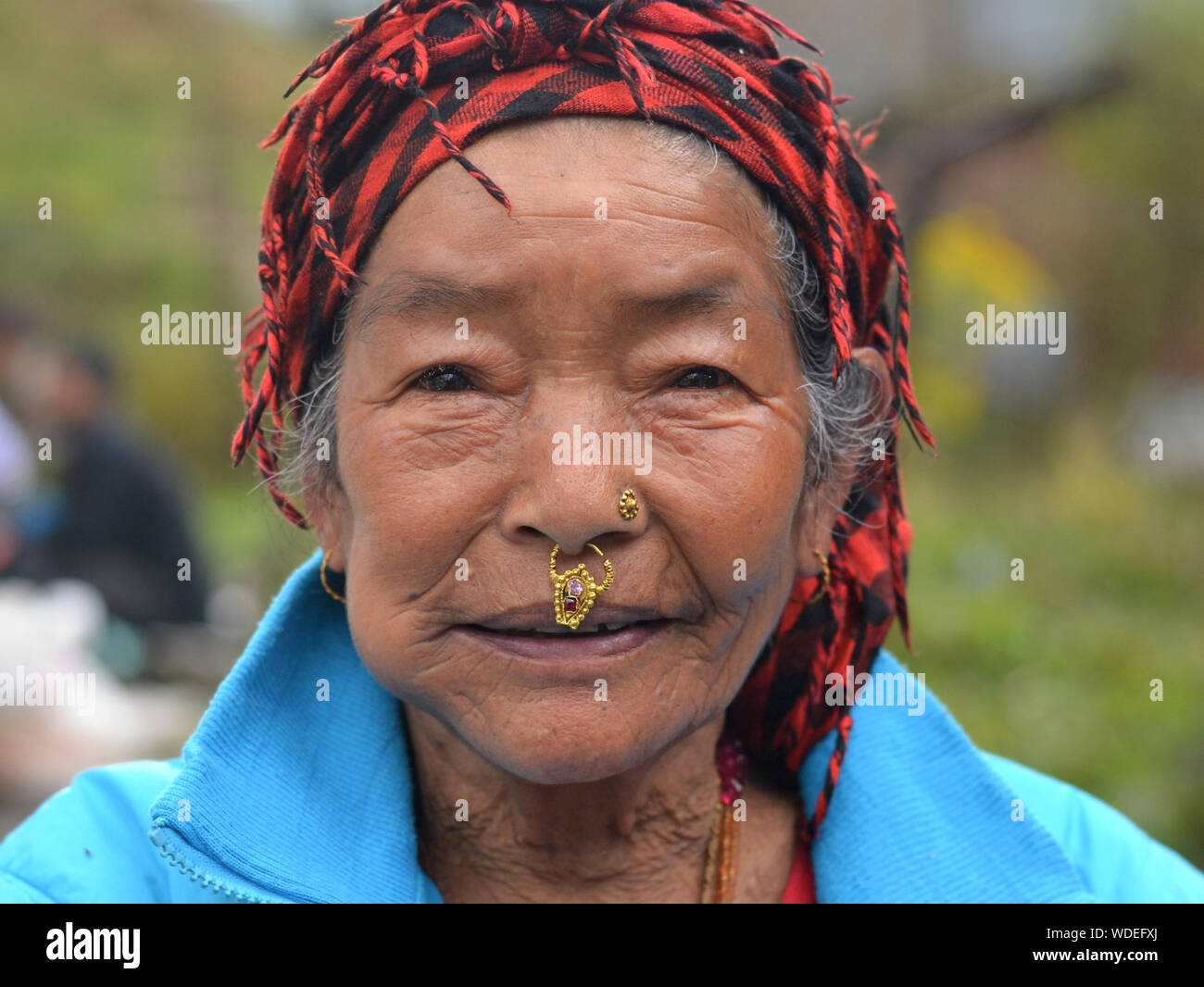 Septum Piercing High Resolution Stock Photography And Images Alamy