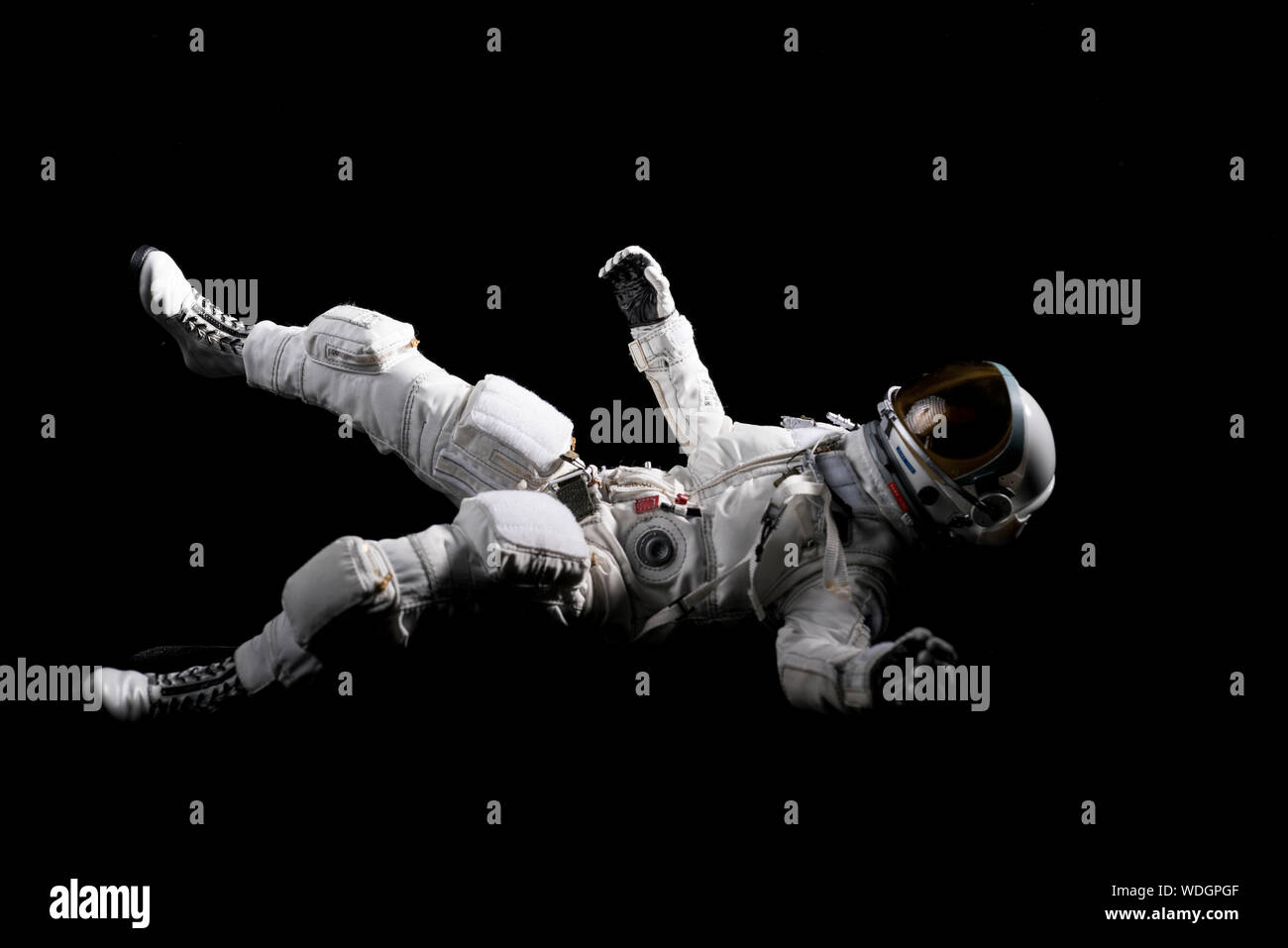 Astronaut Floating In Space Stock Photos Astronaut Floating In