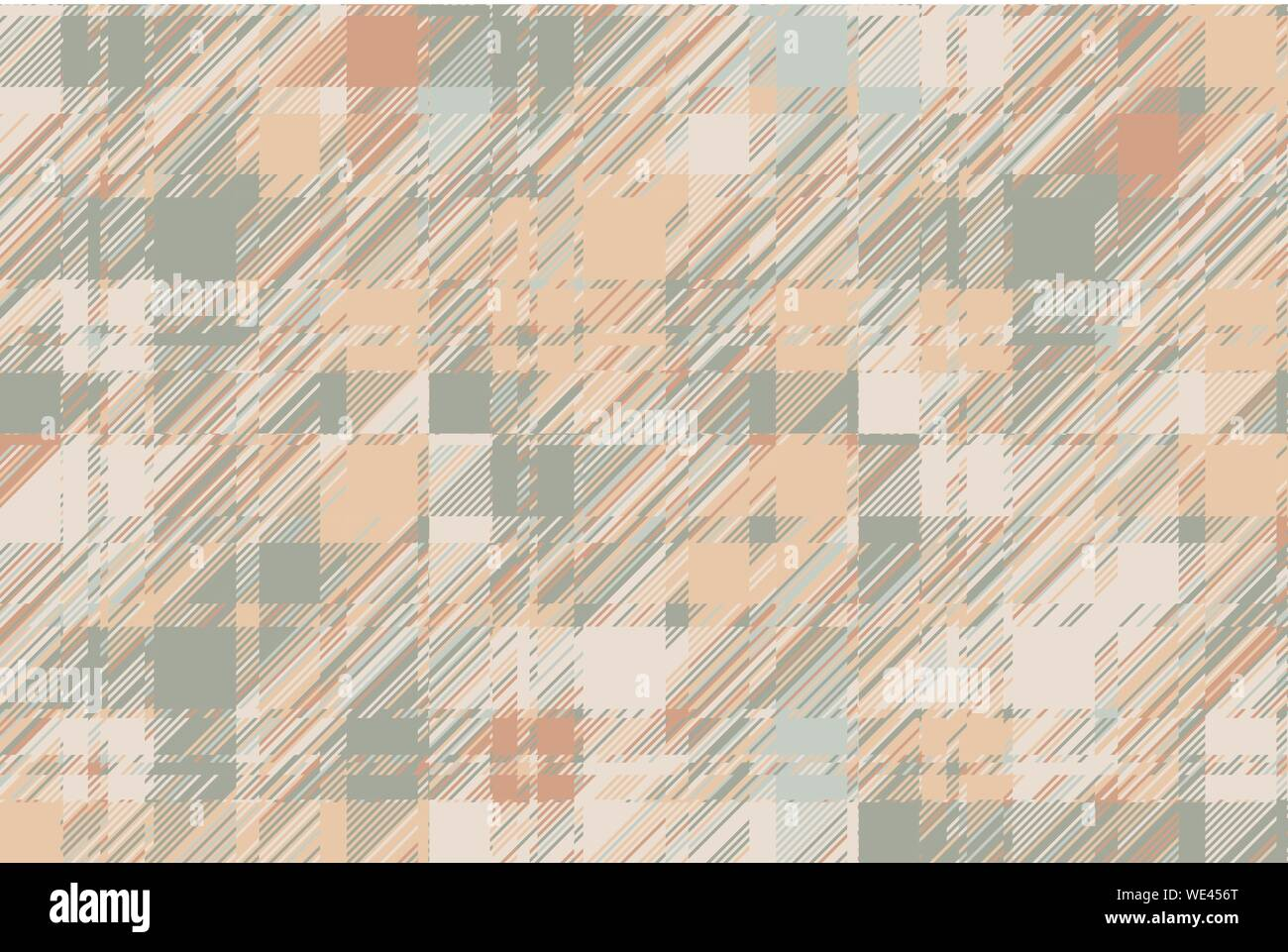 Modern Glitch Background Color Geometric Abstract Pattern