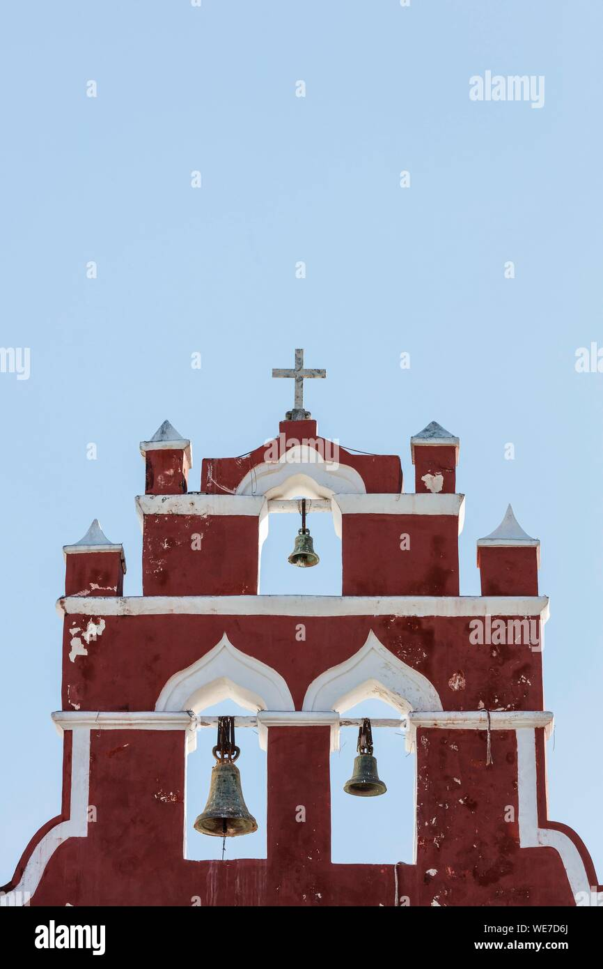 Mexico, Campeche, state, Campeche, bell gable Stock Photo