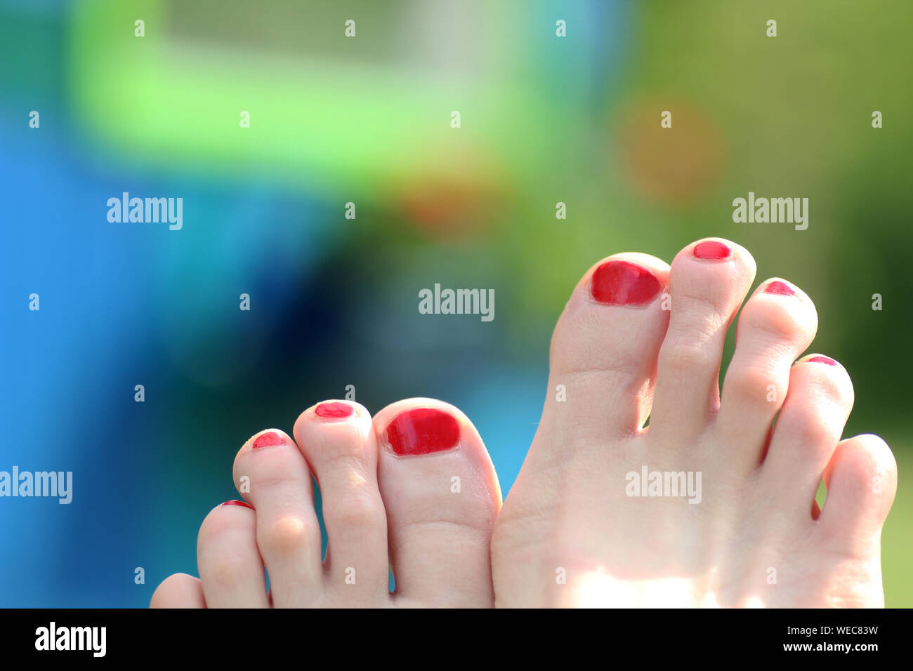 Phenomenal Painted Toenails Women Stock Photos Painted Toenails Women Unemploymentrelief Wooden Chair Designs For Living Room Unemploymentrelieforg