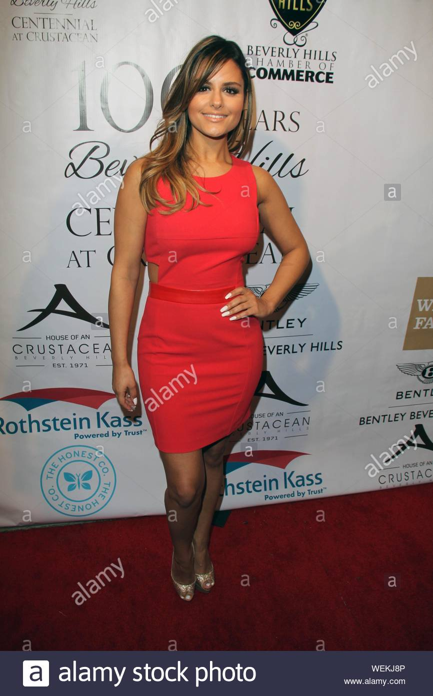 Beverly Hills, CA - Pia Toscano at the Experience East Meets West honoring Beverly Hills' momentous centennial year, held at Crustacean. AKM-GSI February 5, 2014 Stock Photo