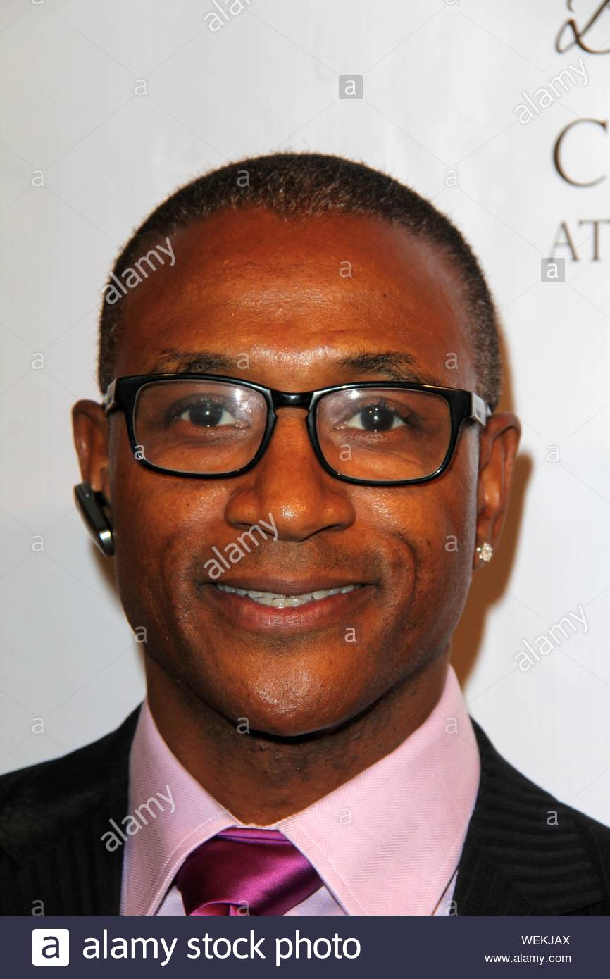Beverly Hills, CA - Tommy Davidson at the Experience East Meets West honoring Beverly Hills' momentous centennial year, held at Crustacean. AKM-GSI February 5, 2014 Stock Photo