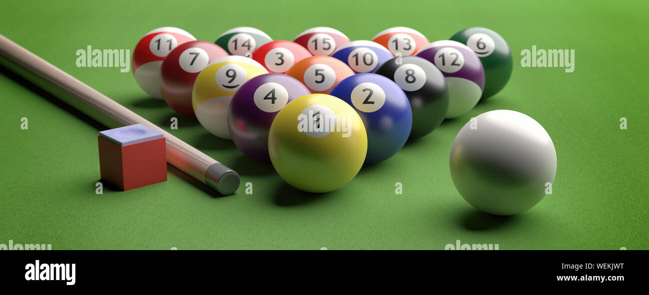 Green Felt On Pool Table High Resolution Stock Photography And Images Alamy
