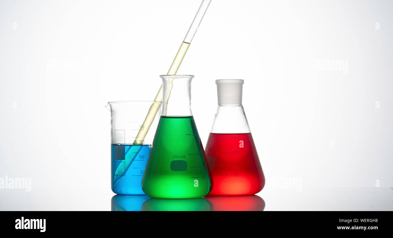 Chemistry, conceptual image Stock Photo