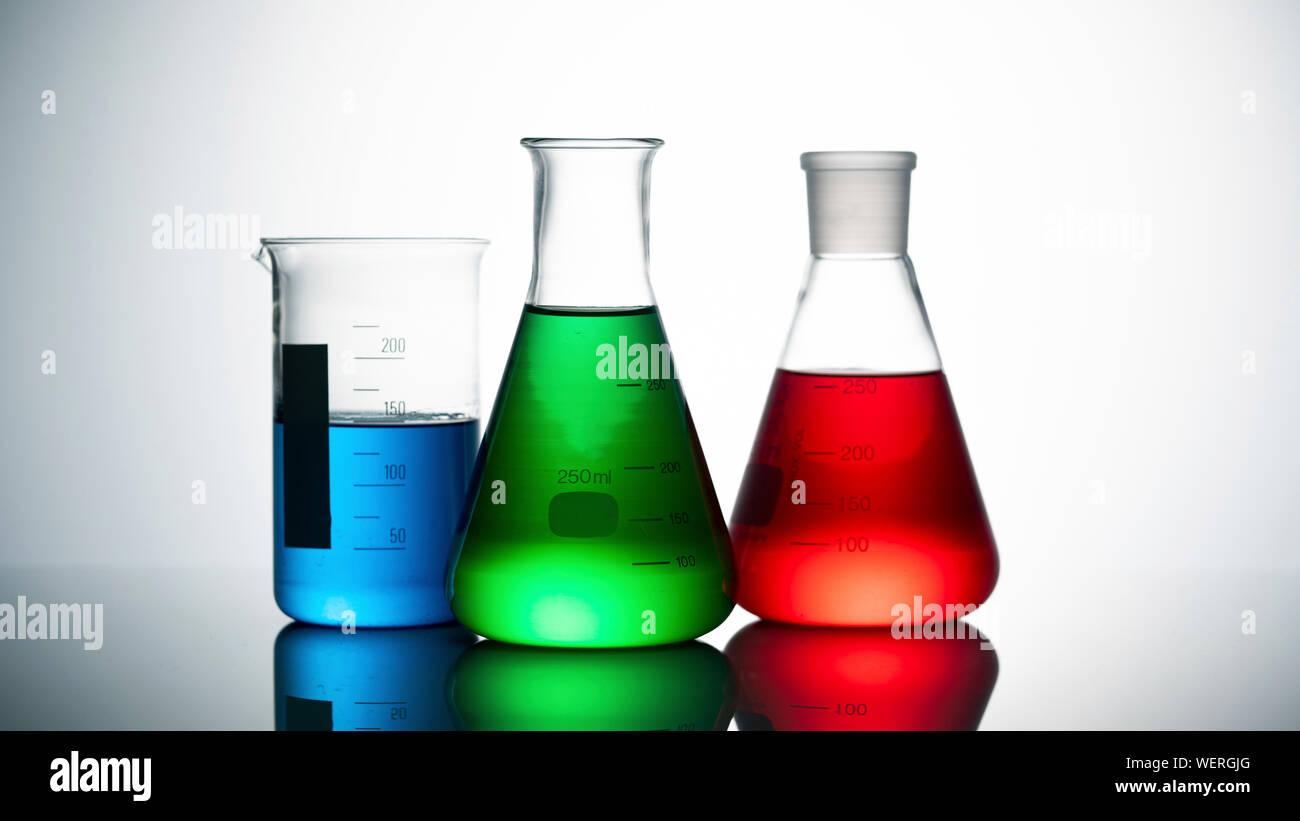Chemistry, conceptual image Stock Photo