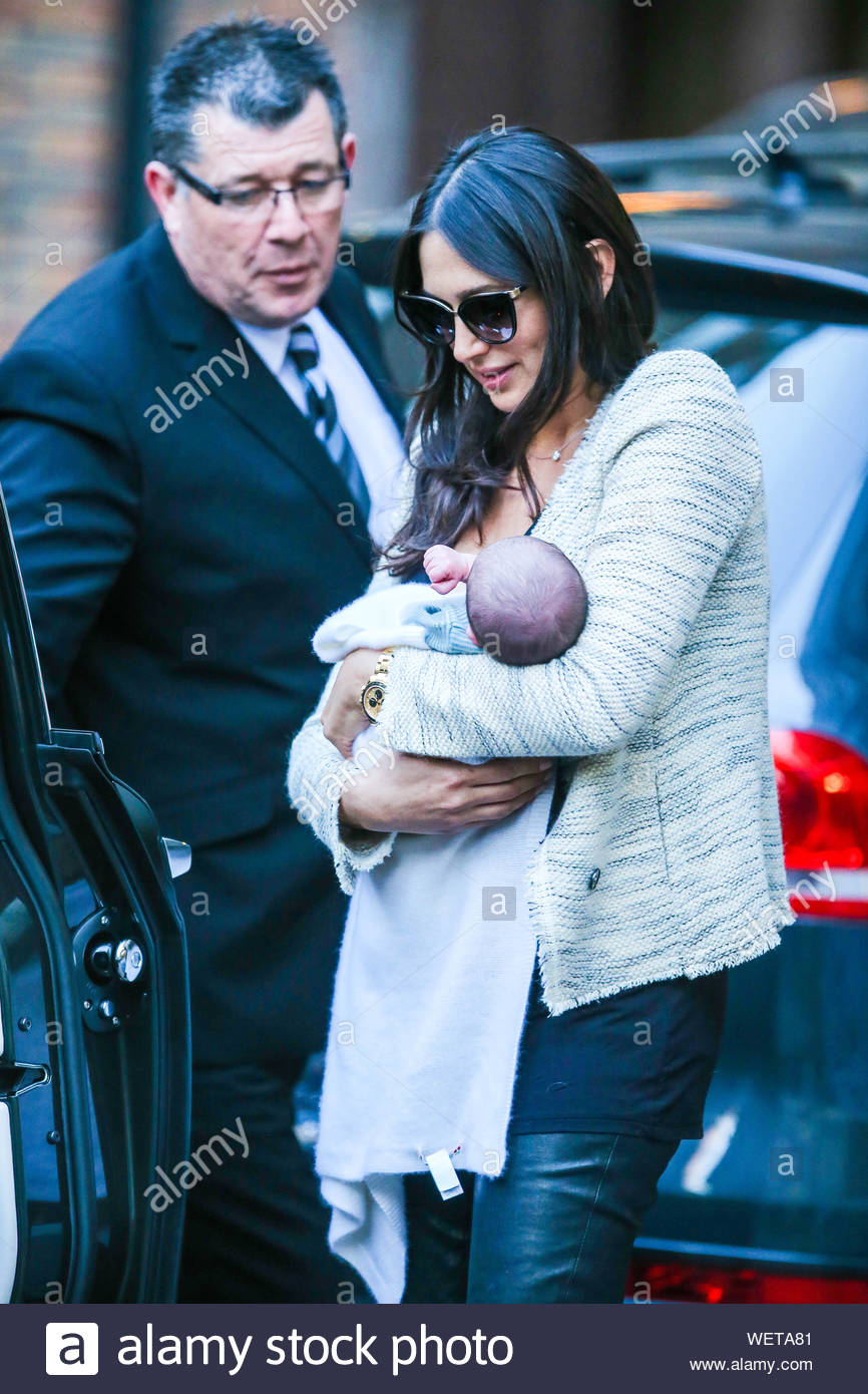 London Uk Part 2 They Ve Been Relaxing In Miami Since The Birth Of Their Son On February 14 And Now Simon Cowell And Lauren Silverman Have Given Baby Eric His