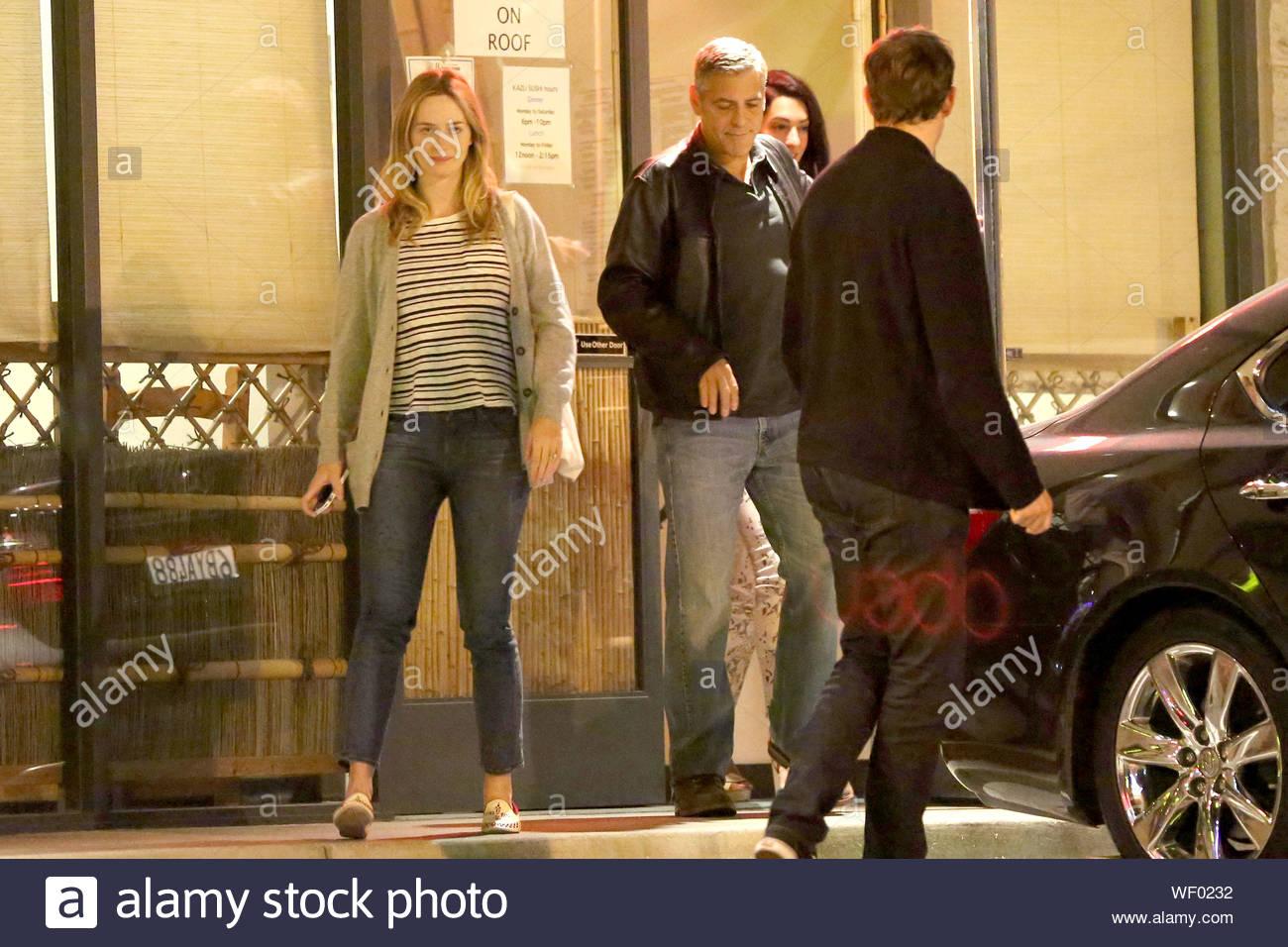George Clooney startet dating Amal