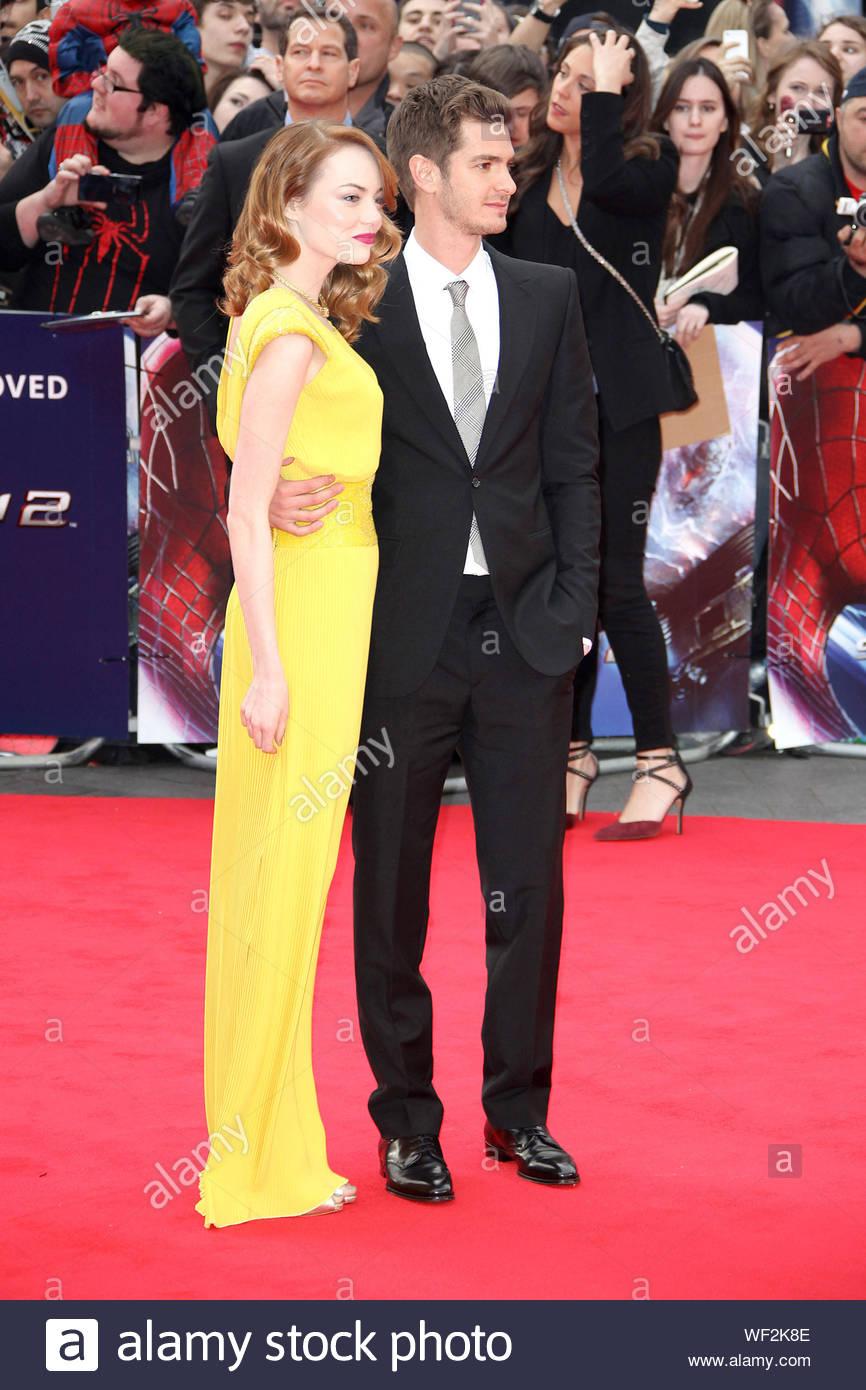 Emma Stone i Andrew Garfield z 2014 roku
