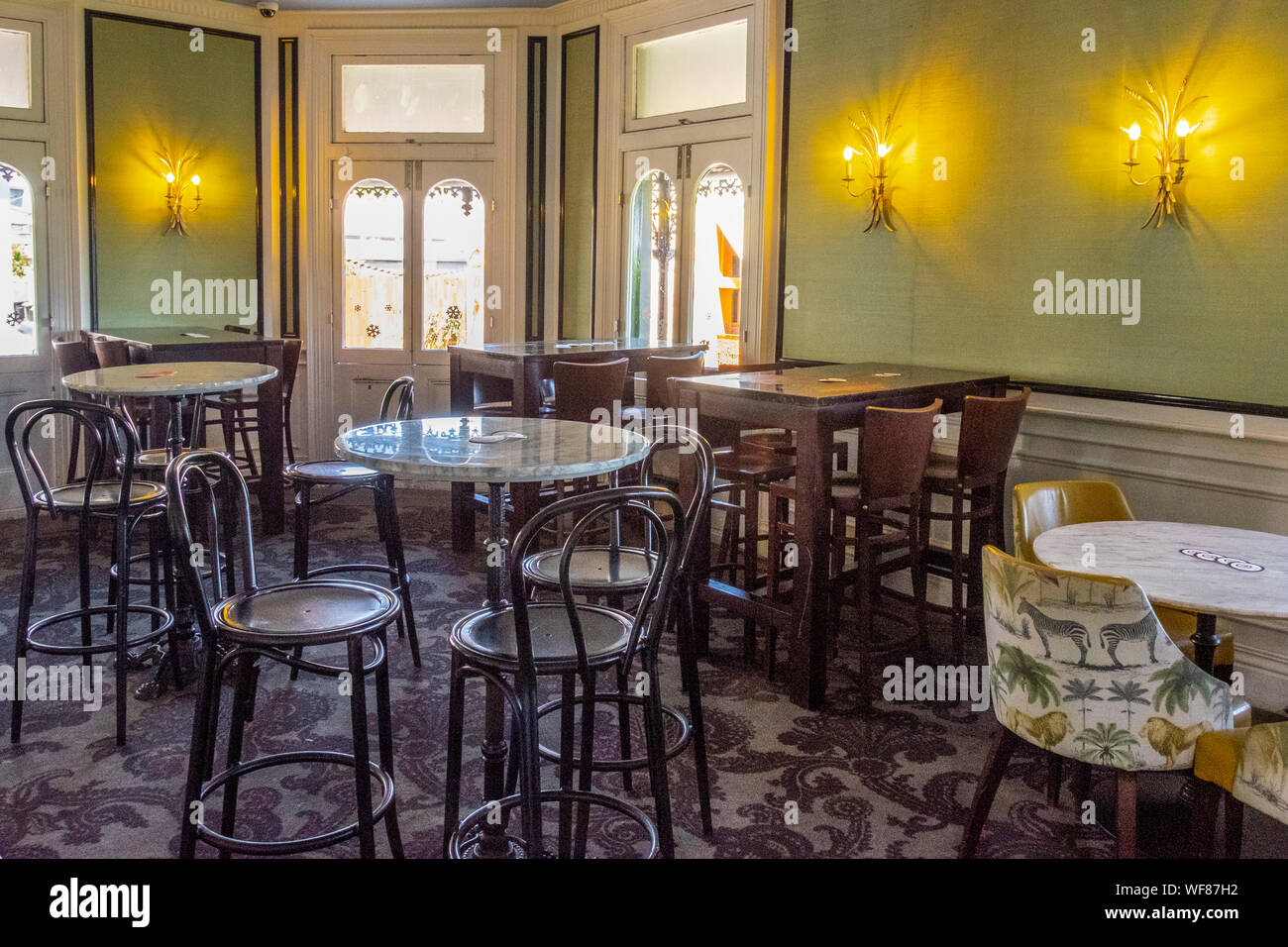 The Royal Hotel Paddington, Sydney, NSW, Australia. Polished hangout with a ground-floor pub, upstairs restaurant and a rooftop bar with city views. Stock Photo