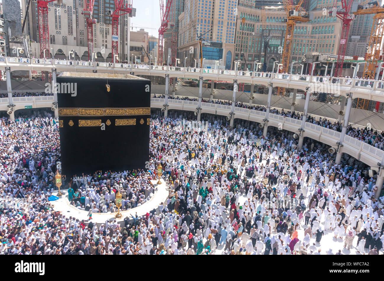 Kaaba Night Stock Photos & Kaaba Night Stock Images - Alamy