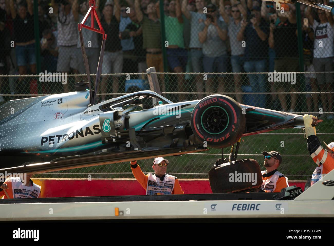 F1 Crash Stock Photos & F1 Crash Stock Images - Alamy