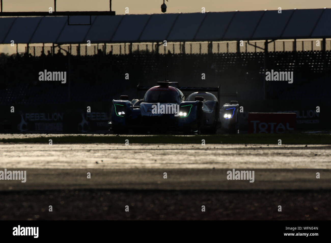 The #24 Panis Barthez Competition Ligier JSP217-Gibson of Timothe Buret, Konstantin Tereschenko and Leonard Hoogenboom during the European Le Mans Ser Stock Photo