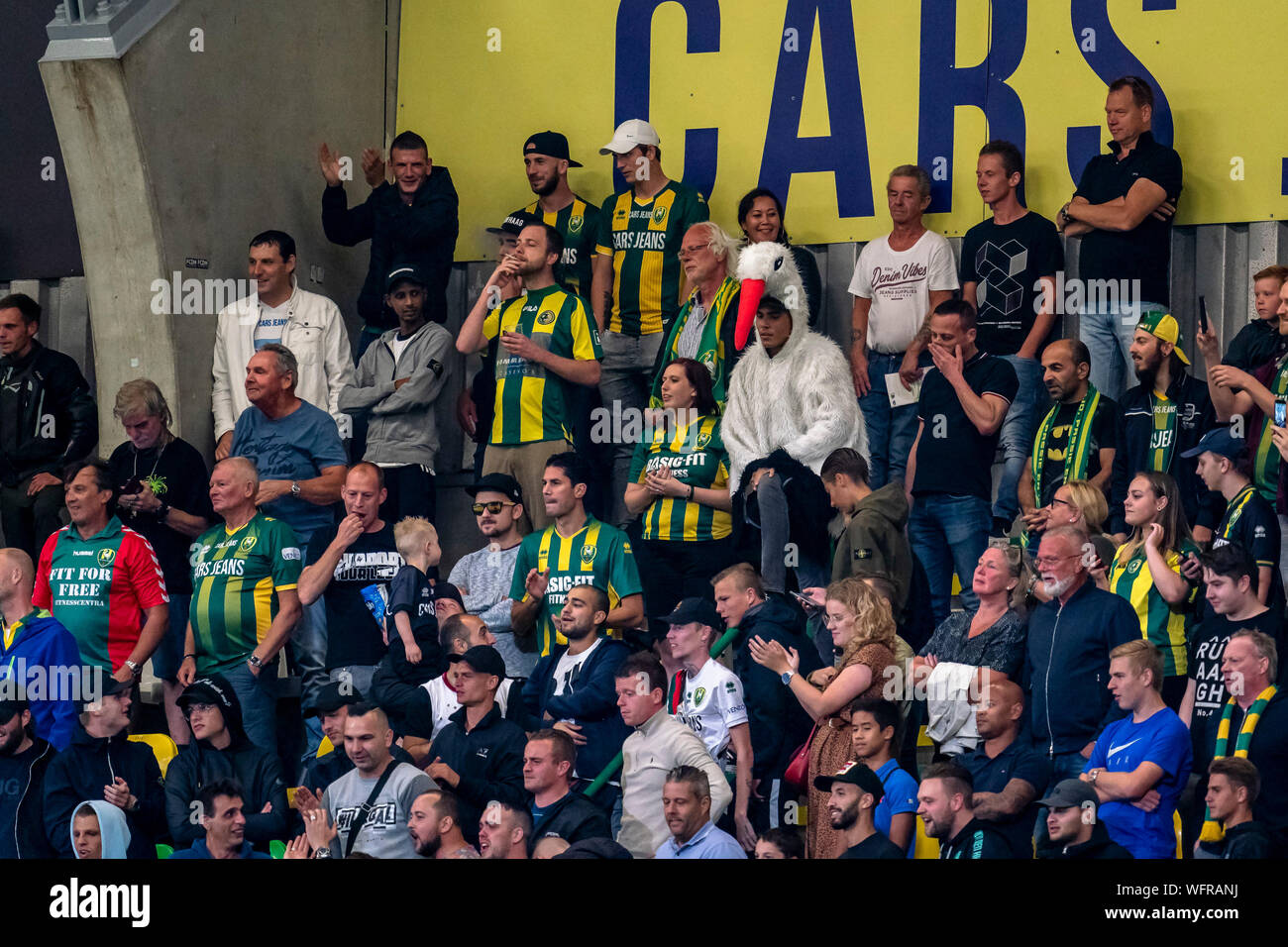 Den Haag Netherlands 31st Aug 2019 Football Dutch Eredivisie Season 2019 2020 Supporters Of Ado Den Haag During The Match Ado Vvv Credit Pro Shots Alamy Live News Stock Photo Alamy