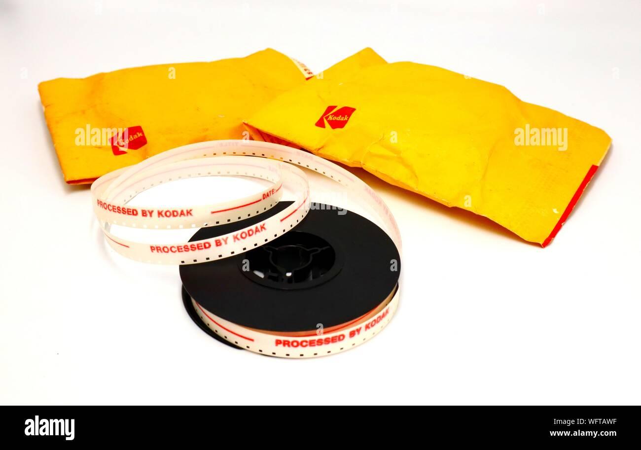 Vintage 1970s KODAK Super 8mm Movie processed by Kodak Stock