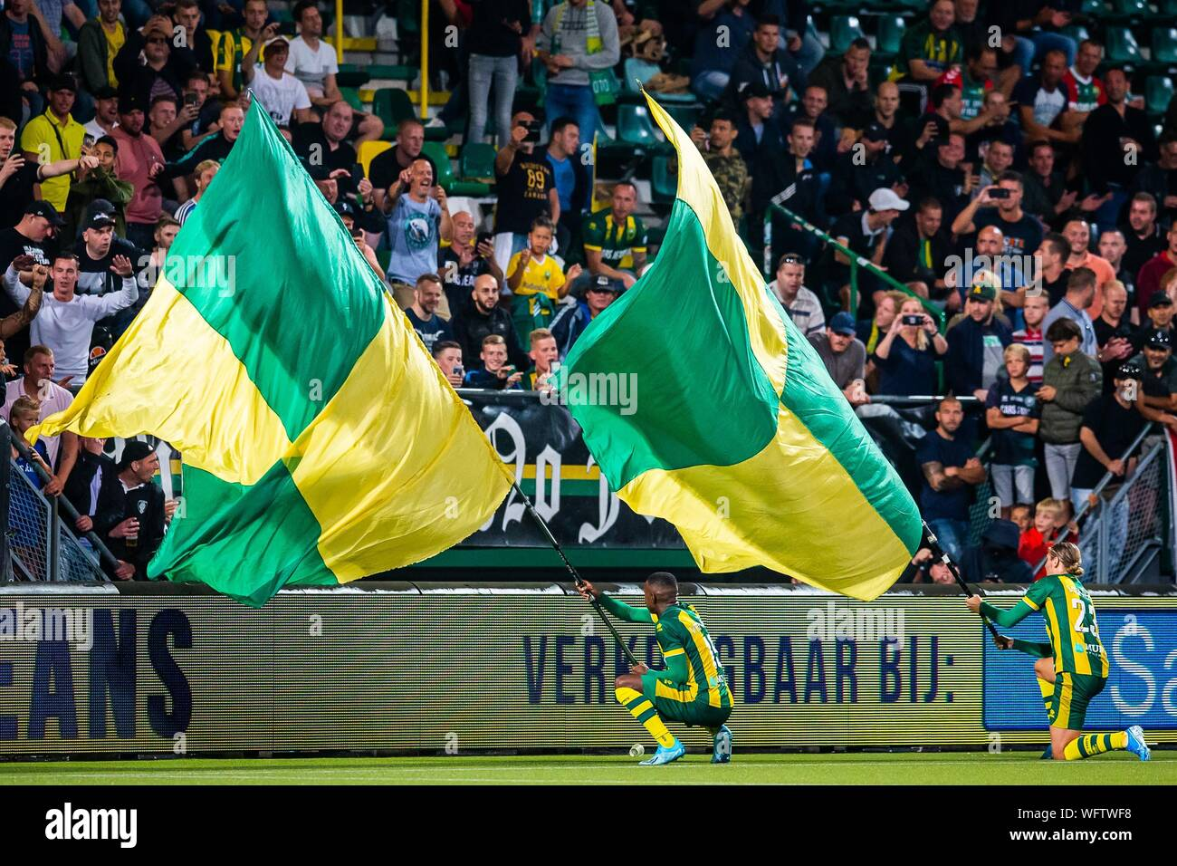 Den Haag Netherlands 31st Aug 2019 Cars Jeans Stadium Season 2019 2020 Football Eredivisie Ado Den