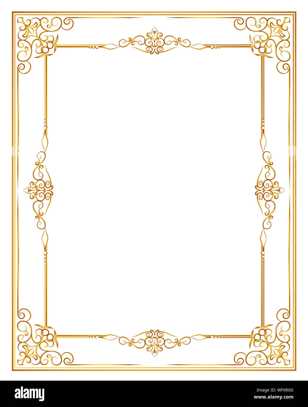 Close-up Of Invitation Card Over White Background Stock Photo - Alamy