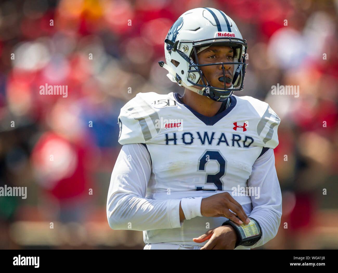 cheap for discount d2b49 270f0 August 31, 2019: Howard Bison quarterback Caylin Newton (3 ...