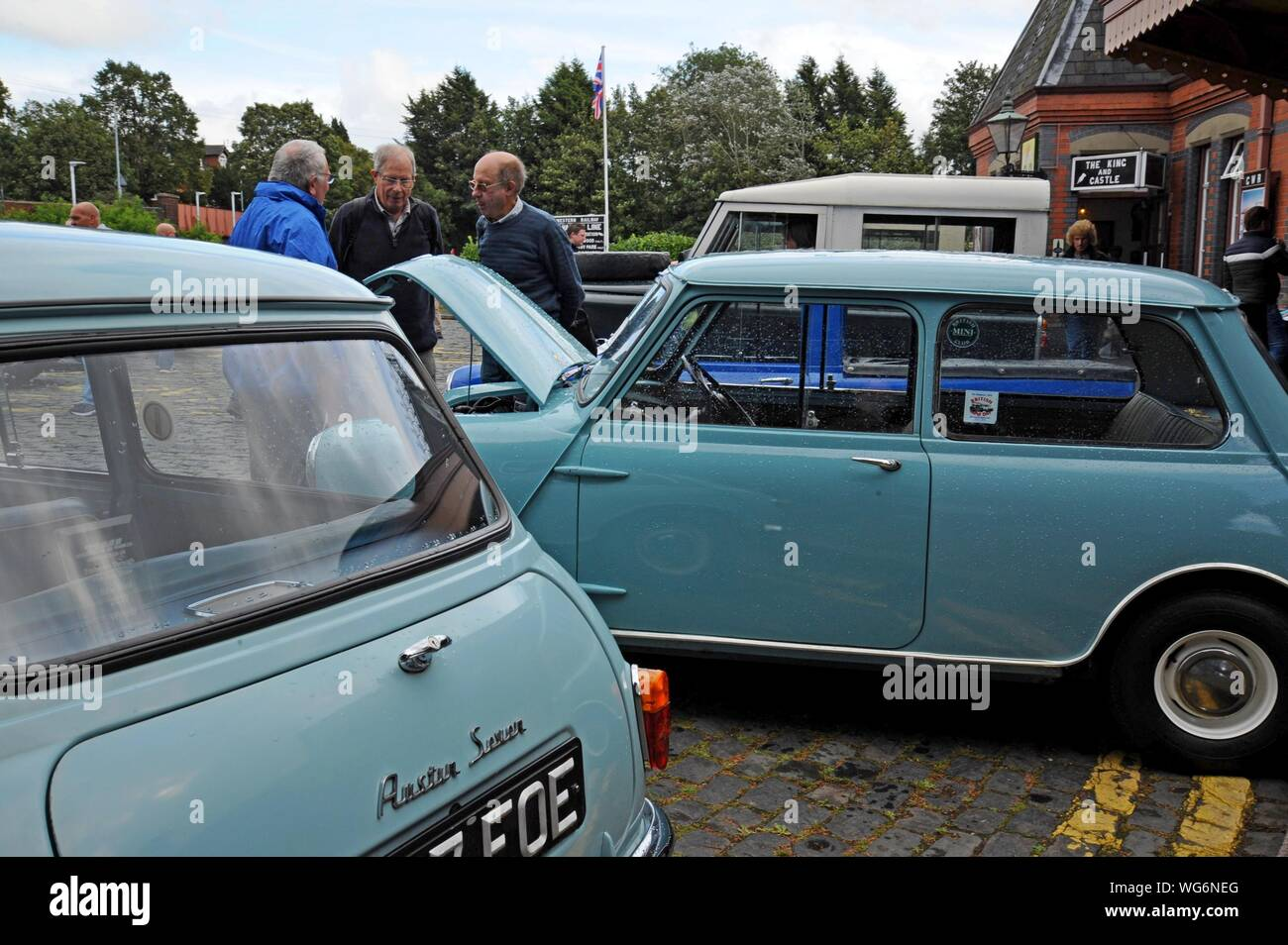 AUSTIN MINI BREAK TRAVELLER Bleu OXFORD