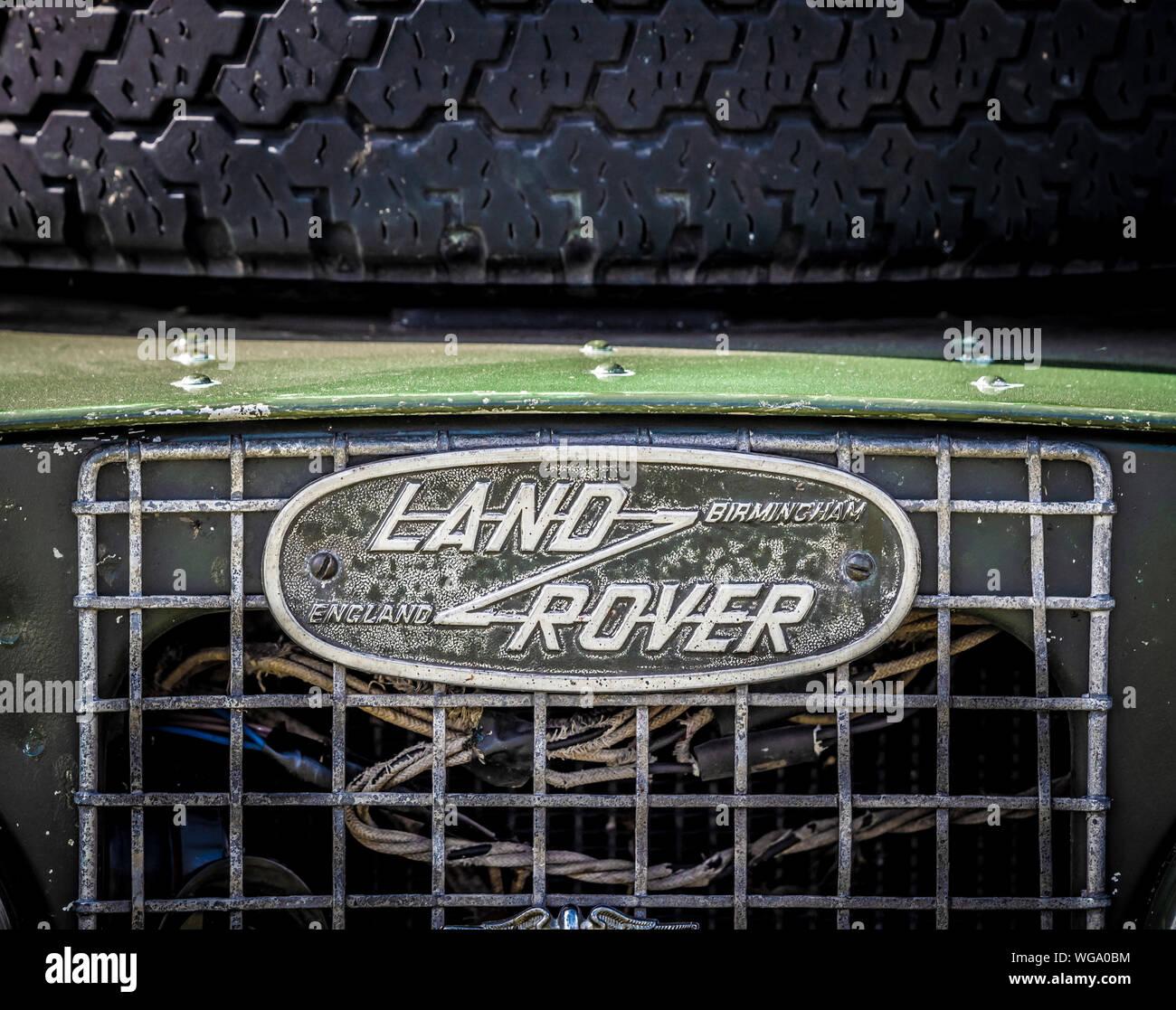 Rover Vintage Car Stock Photos & Rover Vintage Car Stock