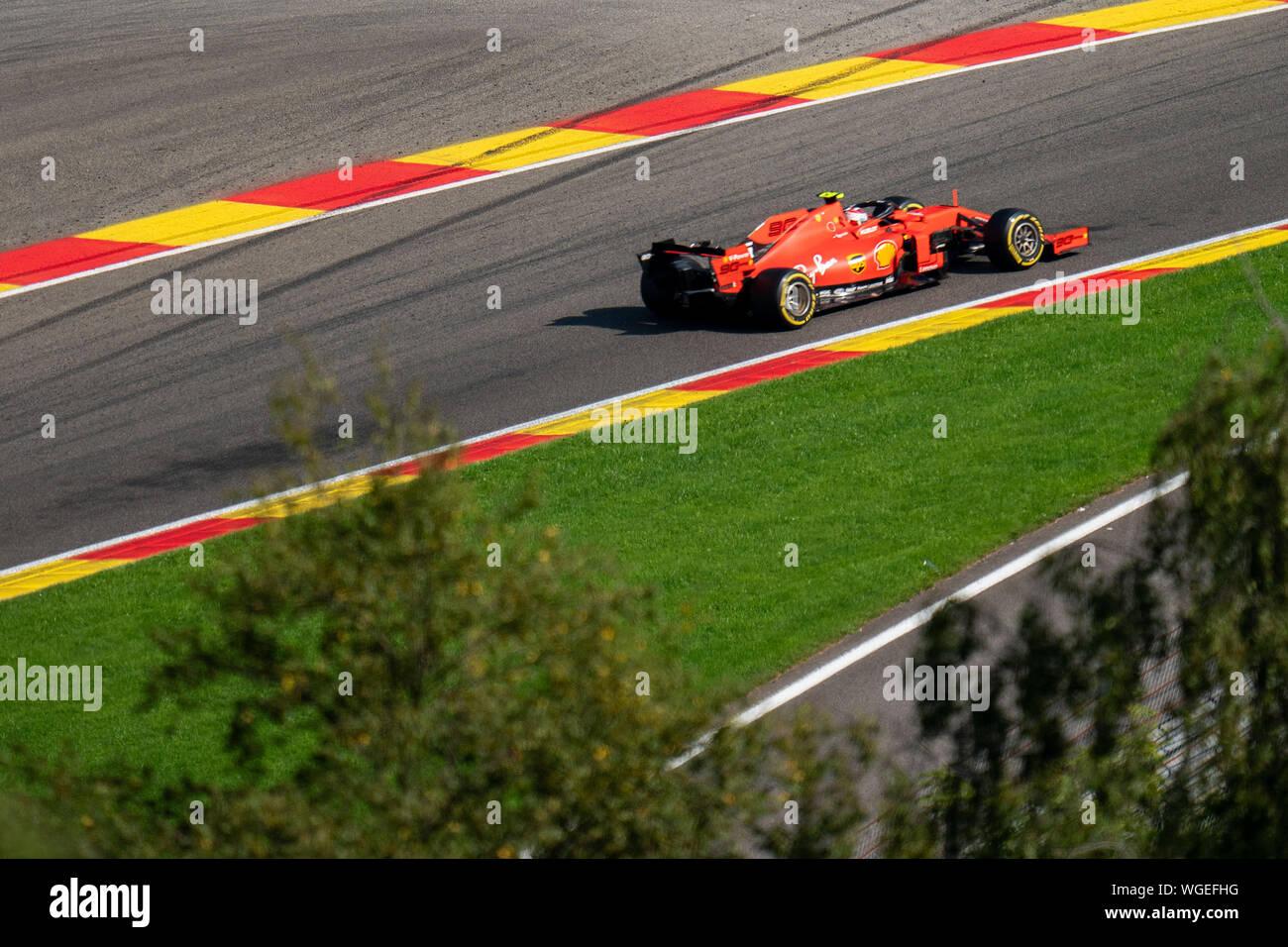 Credit Pro Auto >> Spa Belgium 01st Sep 2019 Spa Fia Formula 1 Grand Prix