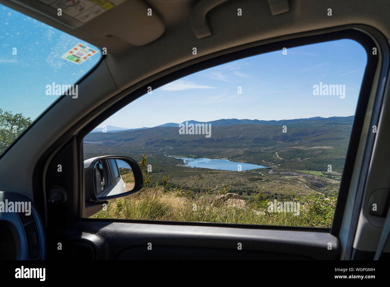 Taken From Inside The Car High Resolution Stock Photography And Images Alamy