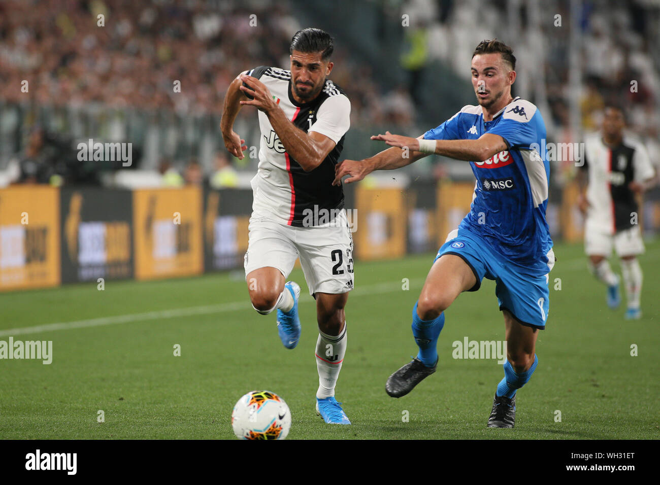 Juventus Vs Napoli High Resolution Stock Photography and Images - Alamy