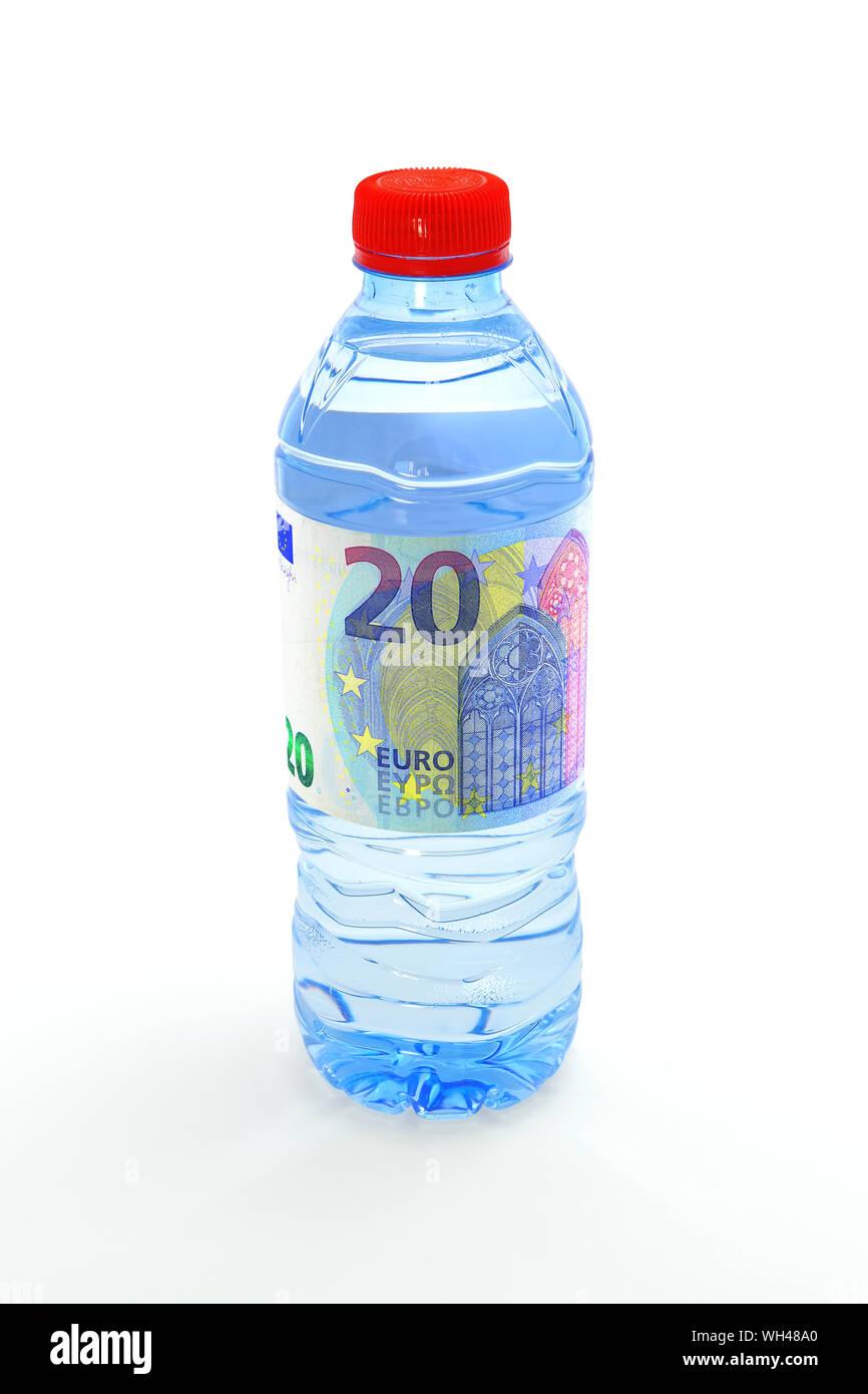 Bouteilles en plastique Stock Photo