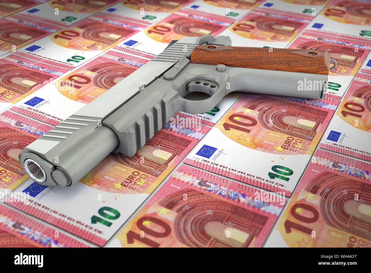 Billet de banque en planche web design graphique graphiste site internet monnaie business finances Stock Photo