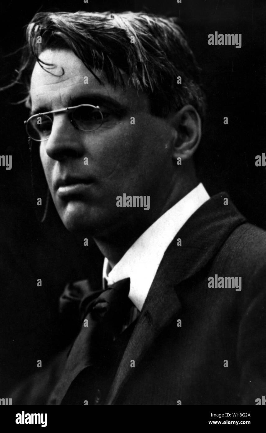 William Butler Yeats,1865-1939,Irish Poet,Playwright,20th Century Literature HistoricalFindings Photo