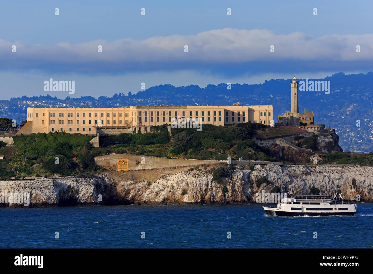 Alcatraz Island, San Francisco, California, United States of America, North America Stock Photo